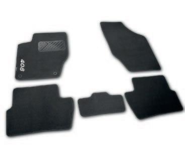 Коврики в салон велюровые для Peugeot 408 2012 -