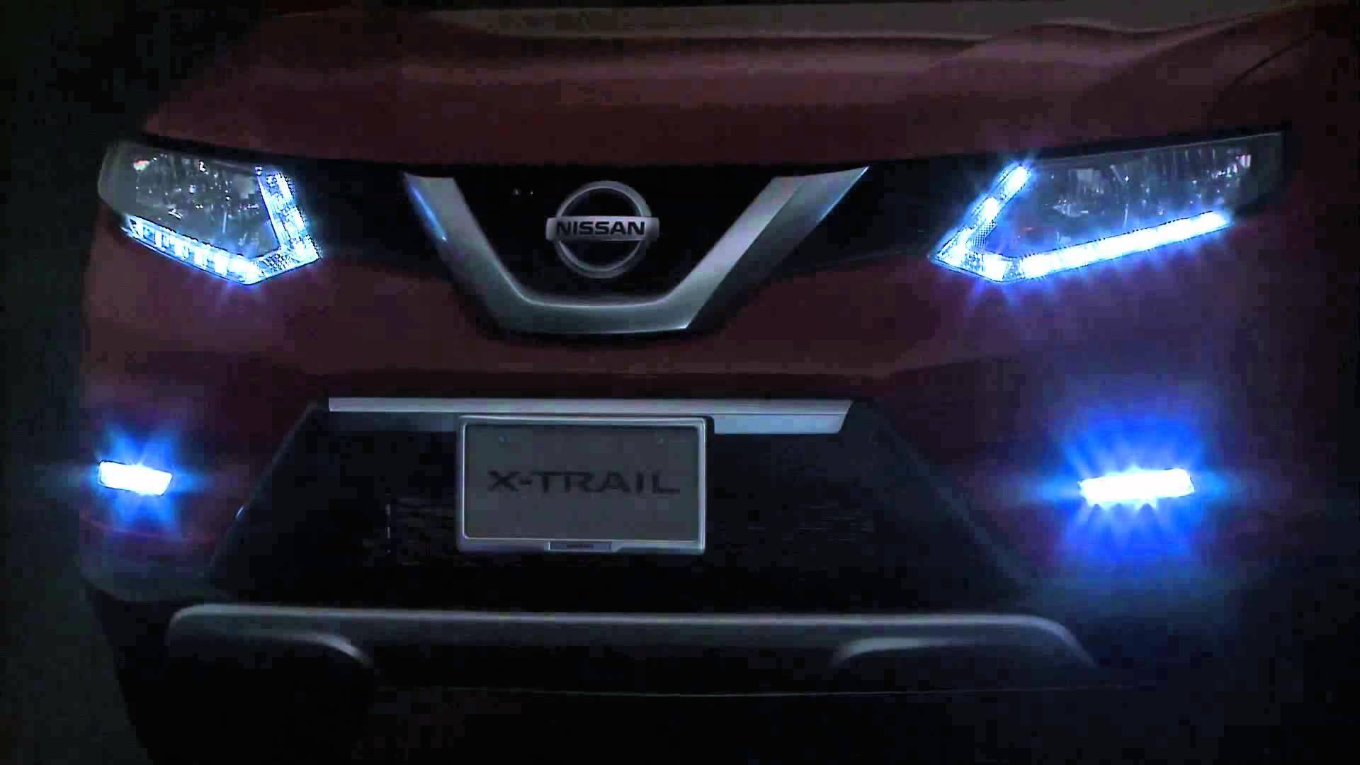 Штатные дневные ходовые огни (ДХО) для Nissan X-Trail T32 2014 - дневные ходовые огни дхо для volkswagen tiguan 2017