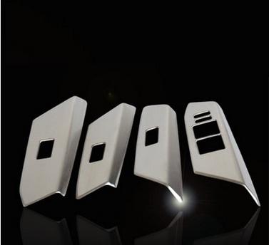 Фото - Накладки на стеклоподъемники для Toyota RAV4 (2013 - 2015) защита картера и кпп автоброня для toyota rav4 2010 2013 2013 2015 2015 н в сталь 2 мм 111 05709 1