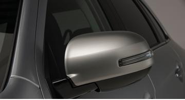 накладки на боковые зеркала хромированные chn для mitsubishi outlander 2012 2018 Накладки на боковые зеркала, серебристые для Mitsubishi ASX (2013 - 2012)