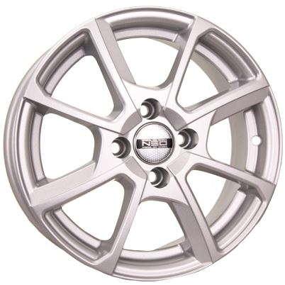 Фото - Диск колесный NEO 538 6xR15 4x100 ET40 ЦО60,1 серебристый rd832486 диск колесный скад пантера 6xr15 4x100 et40 цо60 1 серебристый 0970508