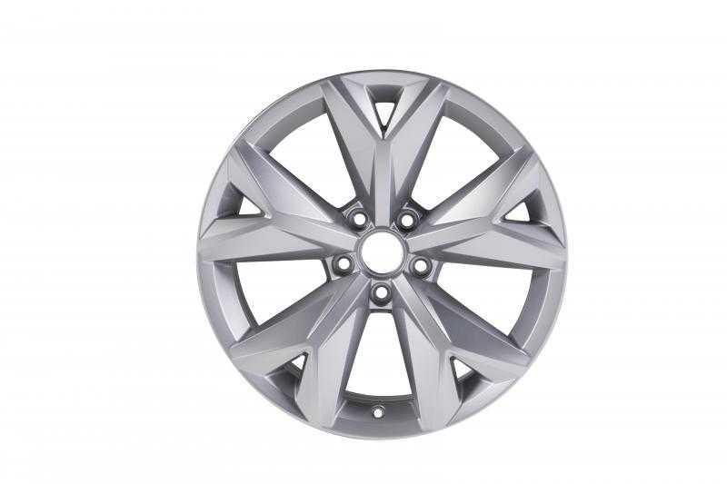 Диск колесный VAG Prisma 8xR18 5x112 ET34 ЦО57 серебристый матовый 3QF601025L8Z8 диск колесный vag mayfield 7xr17 5x112 et45 цо57 темно серебристый 2ga601025nfzz