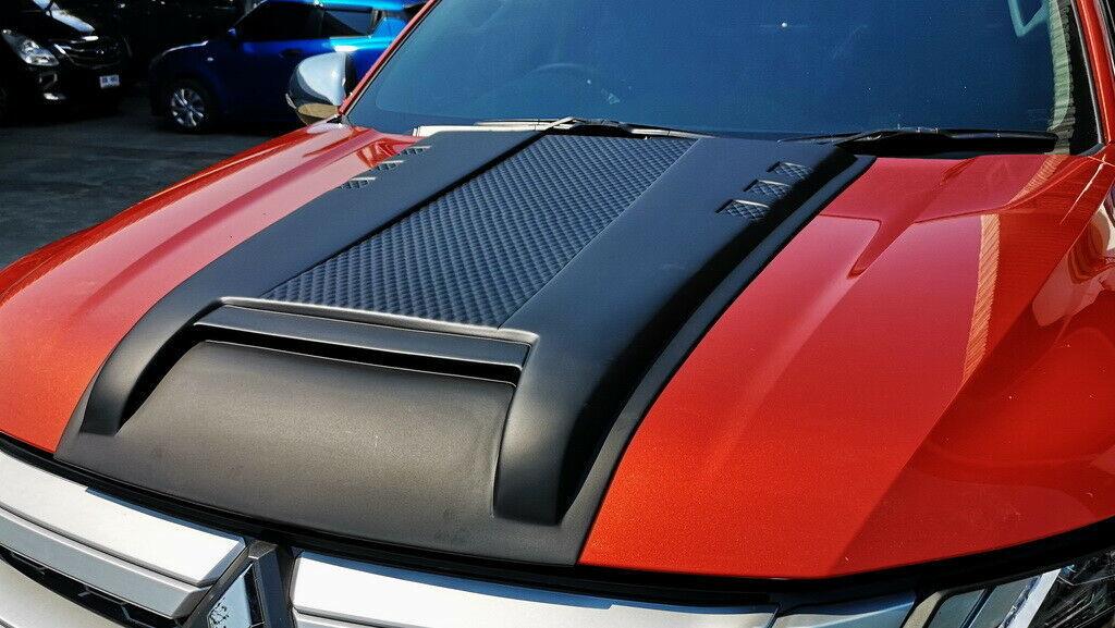 Воздухозаборник на капот TAI для Mitsubishi L200 Triton 2019 - cct stage one high flow turbo for mitsubishi triton 4d56 2 5l vt16 turbocharger