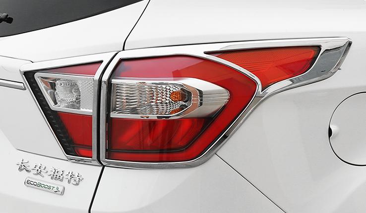 Хромированные накладки на задние фонари CHN для Ford Kuga 2017 - накладки на дверные ручки нерж 4 двери omsa line 2602041 для ford kuga 2017