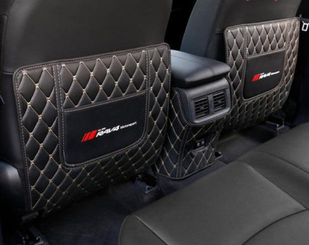 Противоударные накладки на сидение 3 элемента Toyota RAV4 2019-