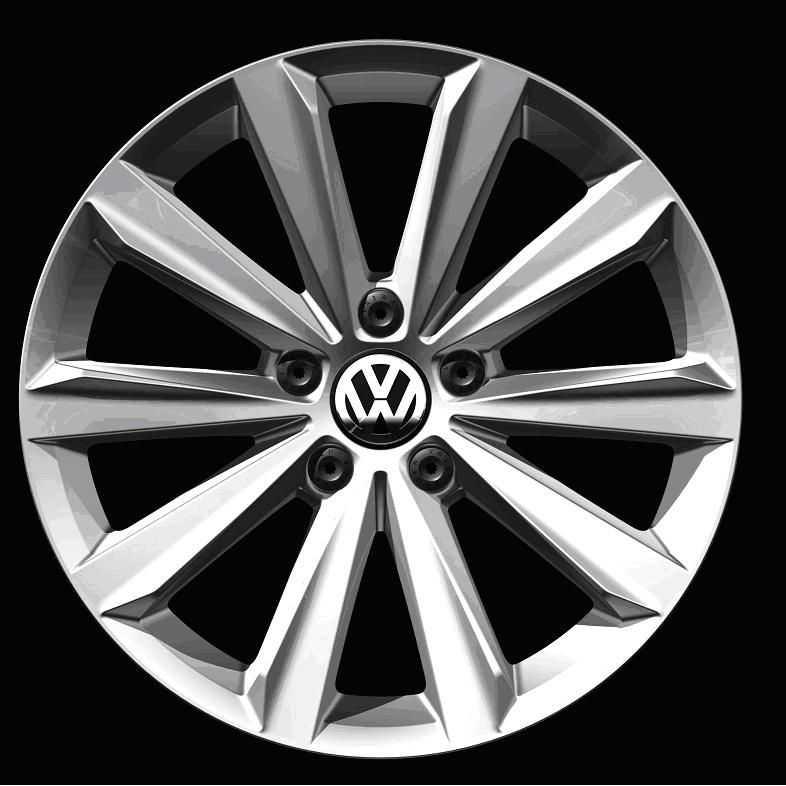 Диск колесный VAG Montego 7xR18 5x112 ET45 ЦО57 серебристый 2GA601025EZD8 диск колесный vag mayfield 7xr17 5x112 et45 цо57 темно серебристый 2ga601025nfzz