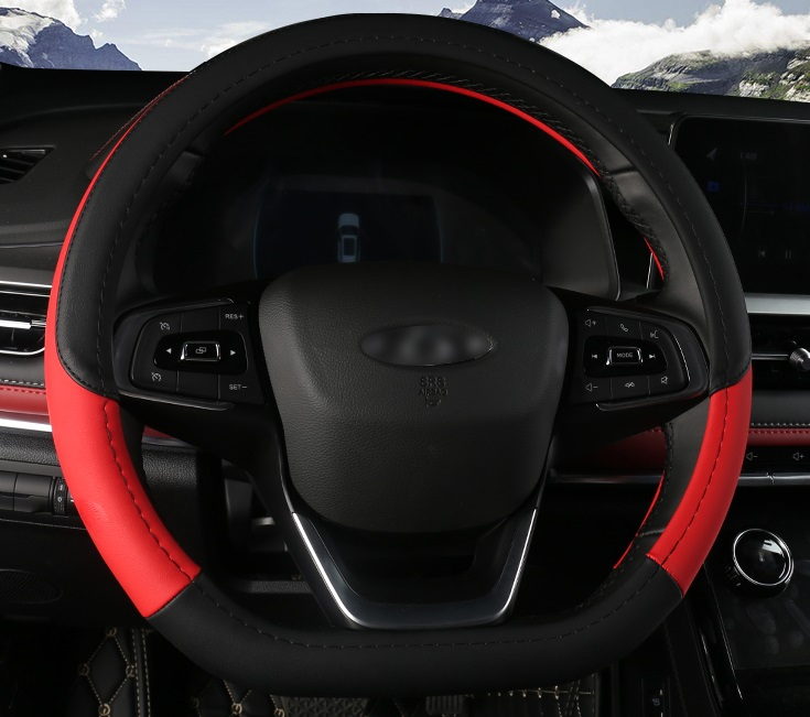 Накладка на руль (красная) Chery Tiggo 7 Pro 2020