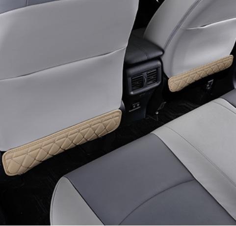 Противоударная накладка на сидения бежевая Toyota RAV4 2019-