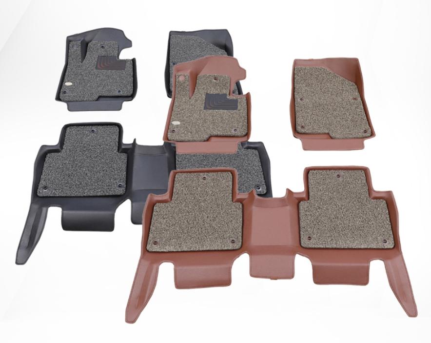 Коврики в салон 3D кожаные для Hyundai Sonata DN8 ( 2020 + )