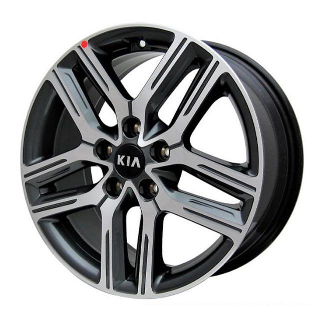 Диск колесный (17 дюймов) для KIA Cerato (2018 - 2019) диск колесный 17 дюймов mobis 52910d4240 для kia optima 2018