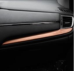 Фото - Накладка на бардачок для Honda C-RV 2016- накладка на воздуховод для honda c rv 2016