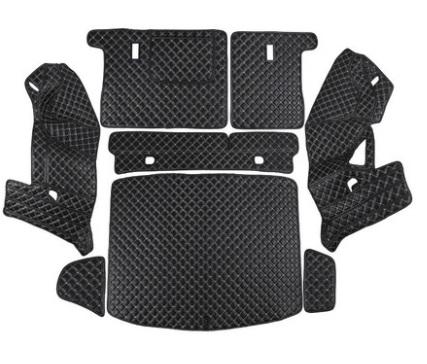 Коврики в багажник 8 элементов полиуретан Honda CRV 2020- коврики в багажник 8 элементов полиуретан серые с черным haval h6 2021