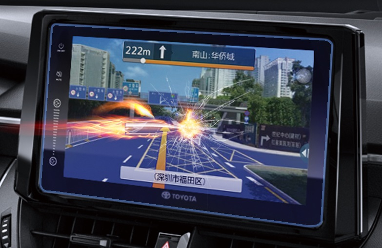 Пленка на навигатор Blu-ray Eye Protection Toyota RAV4 2019- handel giovanni antonini giulio cesare blu ray