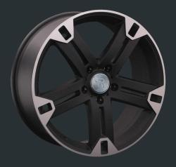 Диск колесный LS Replay MR101 8.5xR20 5x130 ET48 ЦО84.1 черный матовый с полированной лицевой частью 826333