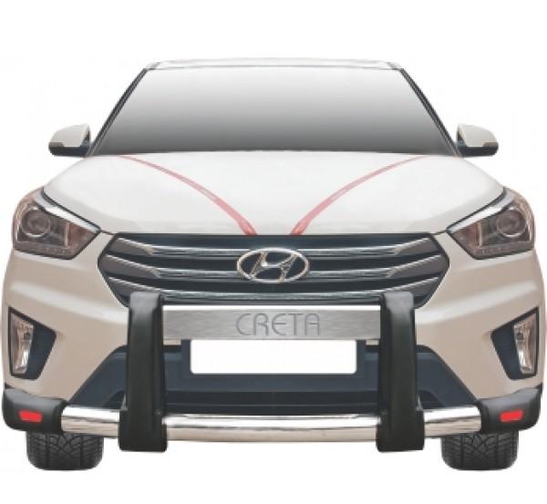 Защитные обвесы бамперов IND для Hyundai Creta 2016 -