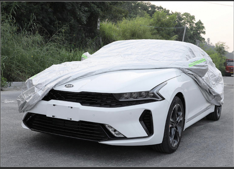 Автомобильный чехол солнцезащитный влагонепроницаемый KIA K5 2020-