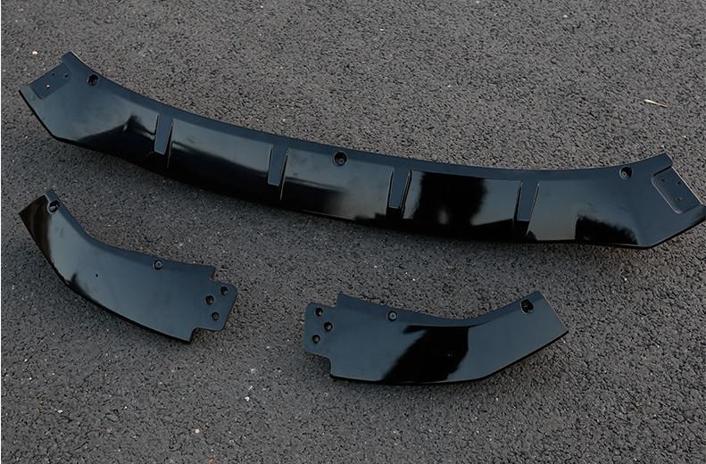 Фото - Юбка переднего бампера (комплект) для Haval F7 (Хавал Ф7) 2018, 2019, 2020 одинарная насадка на выхлопную трубу цвет хром обожженый металл chn 45644 для haval f7 хавал ф7 2018 2019 2020