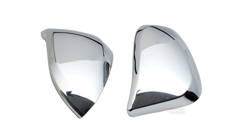 Хромированные накладки на зеркала для Toyota RAV4 (2013 - 2015)