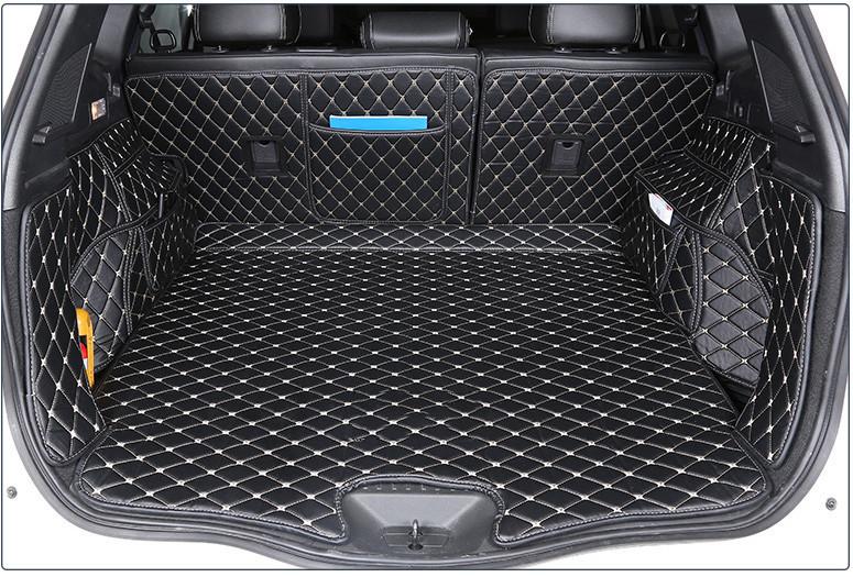 3D обшивка в багажник 1546 для Renault Koleos 2017 -