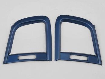 Накладки на воздуховод (синие) Honda CRV 2020-