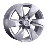 Диск колесный Replay TY311 7.5xR17 6x139.7 ET30 ЦО106.1 серебристый 081573-160038007