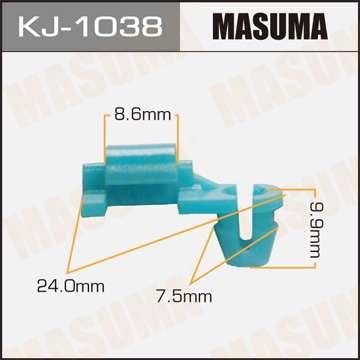 Клипса автомобильная (автокрепеж), 1 шт., Masuma KJ-1038