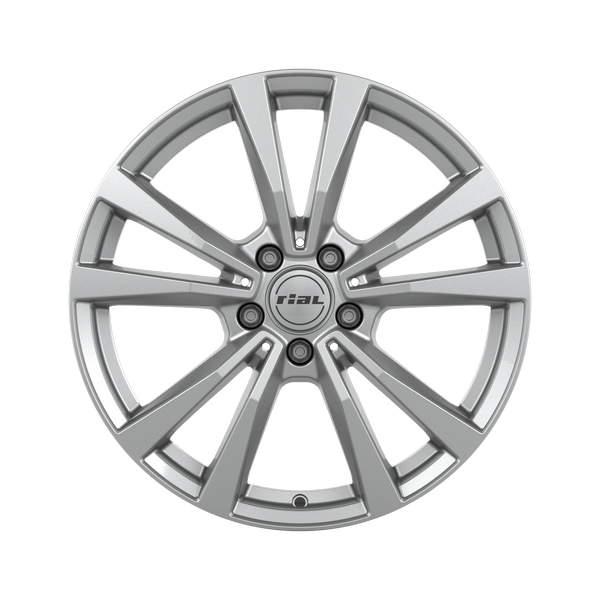 Диск колесный Rial M12 8xR19 5x112 ET20 ЦО66,5 серебристый M12-80920M11-0