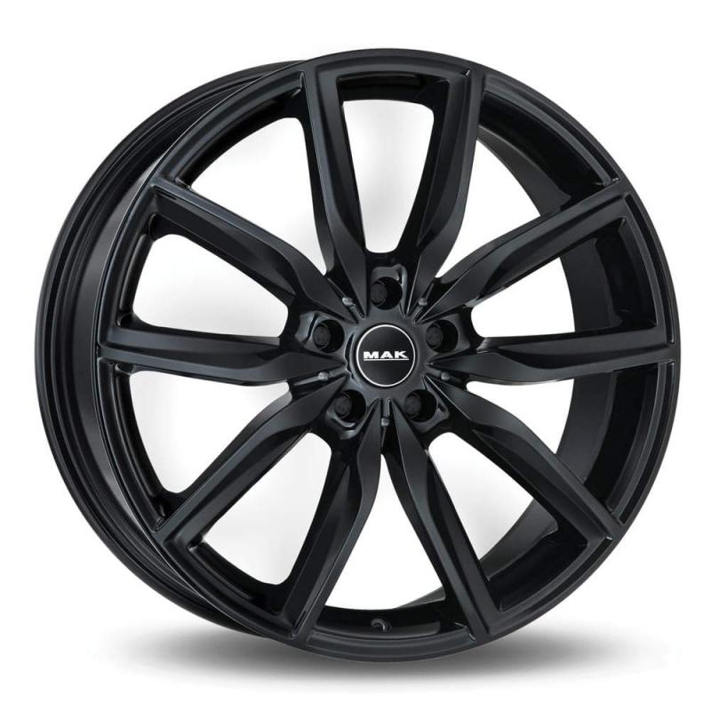 Диск колесный MAK Allianz 8xR19 5x112 ET47 ЦО66,6 черный глянцевый F8090AZGB47WS3X