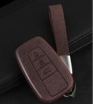 Чехол для ключей для 3 кнопок (коричневый) Toyota RAV4 2019-