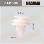 Клипса автомобильная (автокрепеж), уп. 50 шт. Masuma KJ-2582
