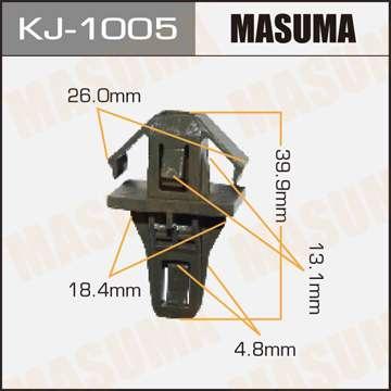 Клипса автомобильная (автокрепеж), 1 шт., Masuma KJ-1005