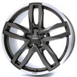 Диск колесный ATS Temperament 9xR19 5x112 ET60 ЦО66,5 серый темный матовый с полированным ободом TE90960M14-6