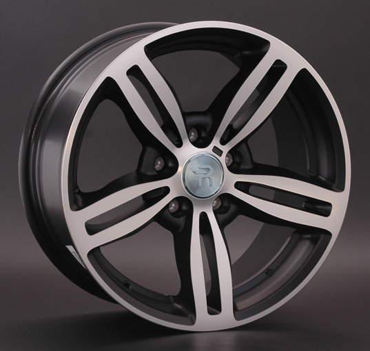 Диск колесный REPLAY B58 8xR18 5x120 ET34 ЦО72,6 черный матовый с полированной лицевой частью 015208-050046001