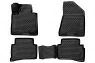 Коврики 3D в салон (черный полиуретан) Format FORMAT.CARKIA00005 KIA Sportage 2016-