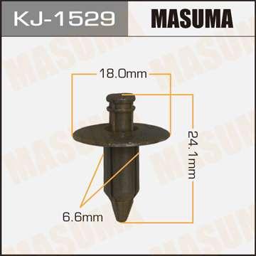 Клипса автомобильная (автокрепеж), 1 шт., Masuma KJ-1529