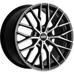 Диск колесный Fondmetal Makhai 9xR21 5x114 ET40 ЦО67,1 глянцевый чёрный с обработкой FMI05J90214051141NA2