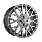 Диск колесный X'trike X-125 6.5xR16 4x100 ЕТ36 ЦО67.1 мрачно серебристый глубокий 68176