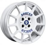 Диск колесный Sparco Terra 7xR16 5x100 ET35 ЦО63,3 белый W29046600G7