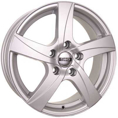Диск колесный NEO 600 6,5xR16 5x114,3 ET45 ЦО67,1 серебристый  N600-6516-671-5x1143-45S