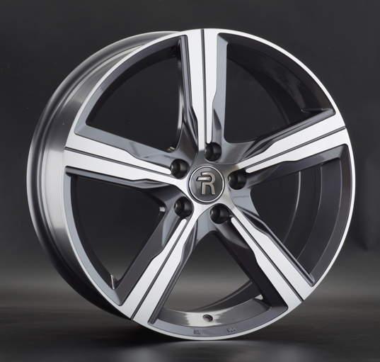 Диск колесный REPLAY A160 8xR19 5x112 ET39 ЦО66,6 серый глянцевый с полированной лицевой частью 044188-160019006