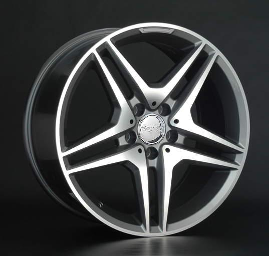 Диск колесный REPLAY MR96 8,5xR18 5x112 ET38 ЦО66,6 серый глянцевый с полированной лицевой частью 022473-040060006