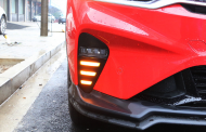 Дневные ходовые огни LED с функцией поворотника ДХО для Geely Coolray (SX11) Кулрэй