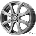 Диск колесный iFree Дайс 6xR15 4x108 ET45 ЦО63.35 серый тёмный глянцевый 265506