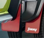 Комплект брызговиков (передние и задние) Suzuki 99118-78R10-RD1 / 99118-78R00-RD1 для Suzuki Jimny 2019 -