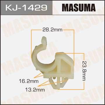 Клипса автомобильная (автокрепеж), уп. 50 шт. Masuma KJ-1429
