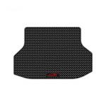 Коврик багажника термопластиковый с бортиком, черный Xiamen Aidezhou XMND-00351 для Chevrolet Tahoe (4G) 2014 -