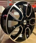 Диск колесный Carwel Хасан 202 7xR18 5x114.3 ET45 ЦО66.1 черный с полированной лицевой частью 97234