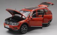 Модель в масштабе 1:18 Volkswagen Tiguan 2017 -
