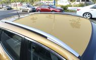 Рейлинги на крышу, декоративные, клеящиеся для Nissan Qashqai 13-