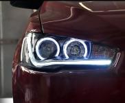 Оптика передняя Tuning Plus для Mitsubishi Lancer 2007 -
